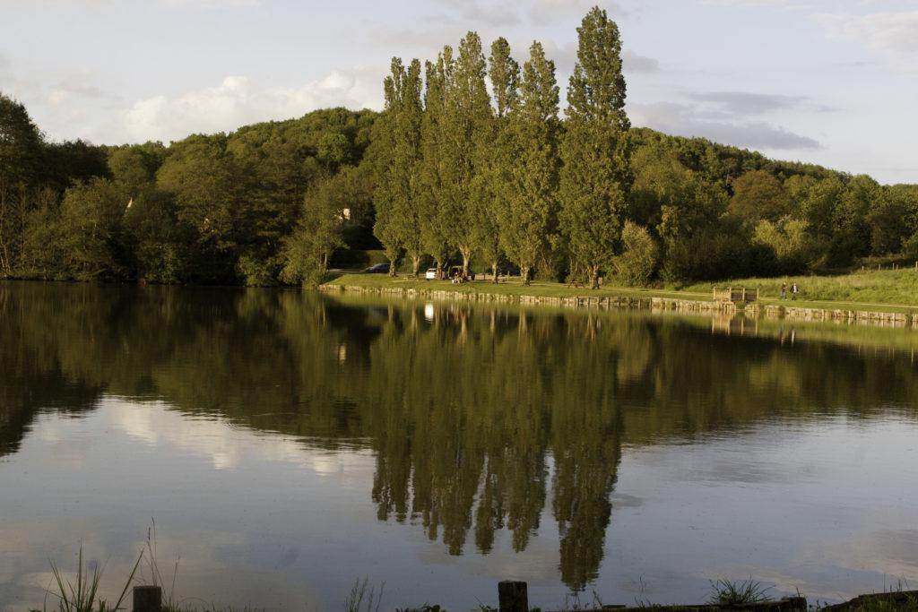 La Madeleine Bouvet étang de pêche