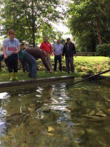 Journée des jeunes pêcheurs organisée par le comité des fêtes